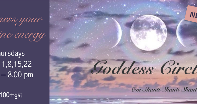 NEW! Goddess Circle with Sue Mac Henry