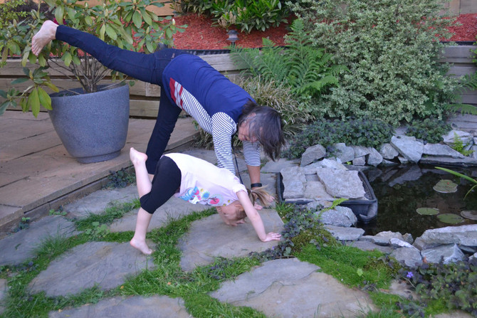 KIDS YOGA WORKSHOP with Dorothy Fizzell