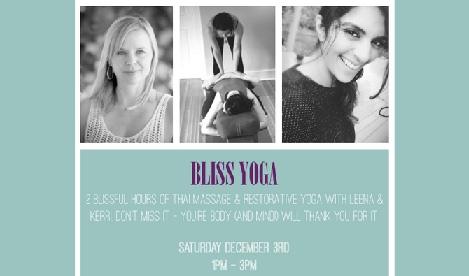 Bliss Yoga with Leena & Kerri