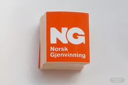 Klistremerke med logo