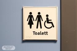 Toalettskilt