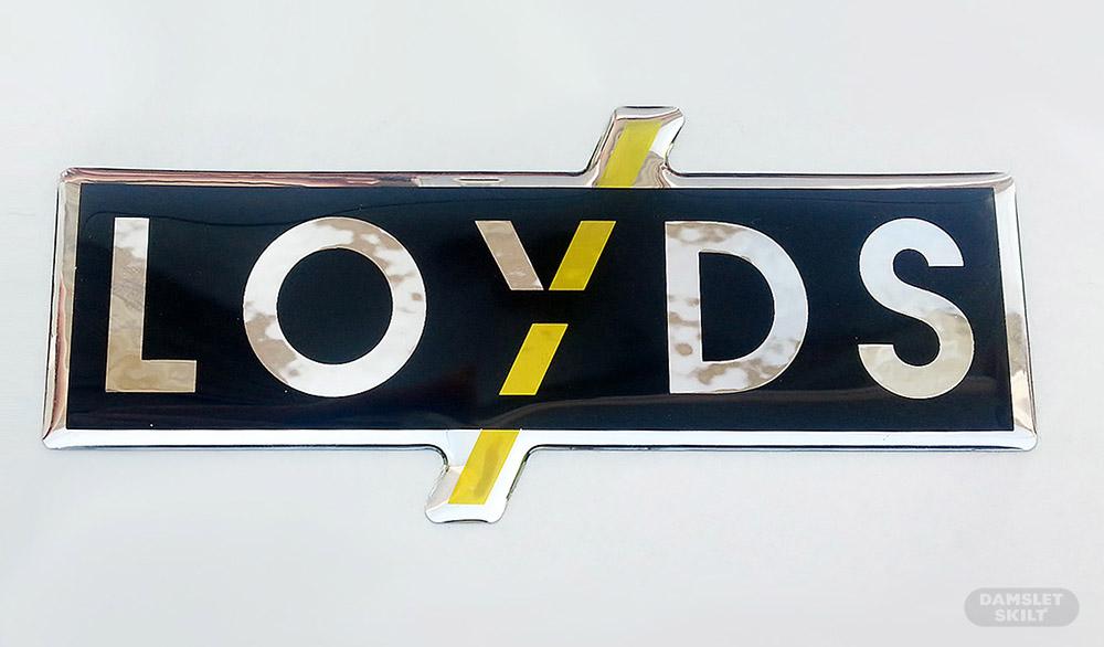 3D glossy logomerke