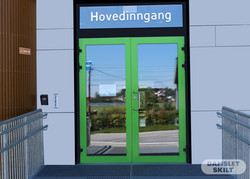 Hoved inngang