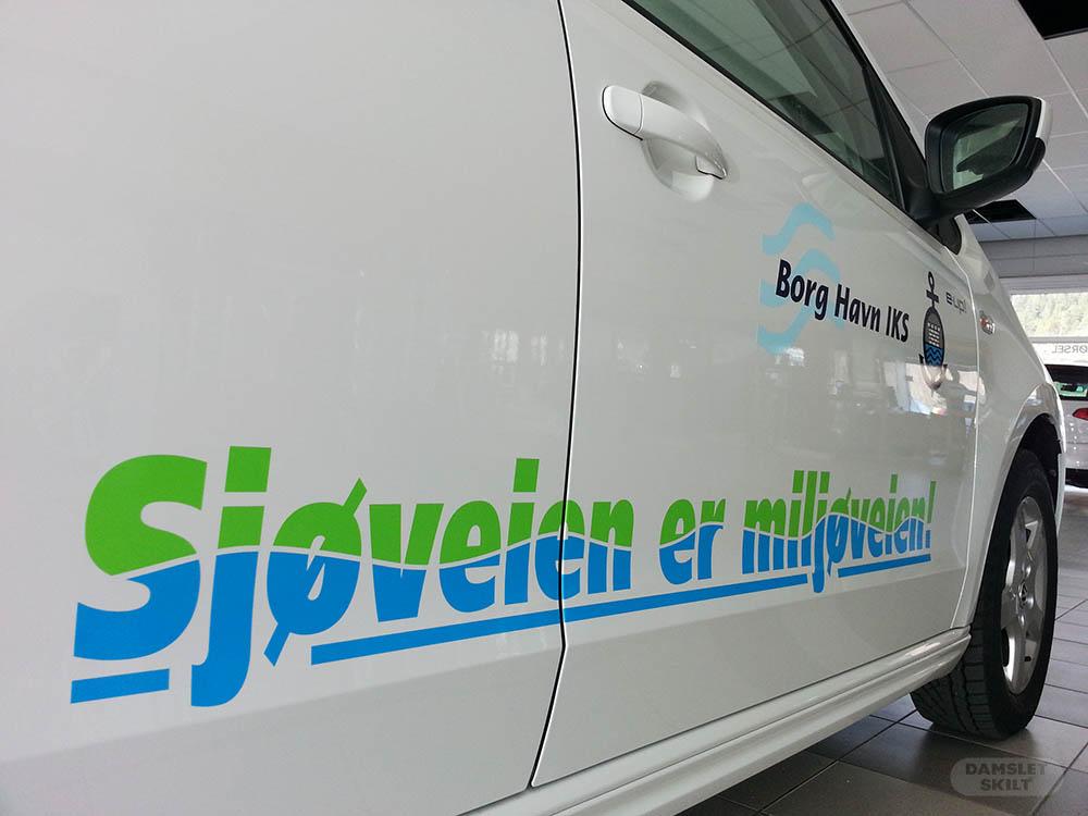 Foliering av bil Østfold