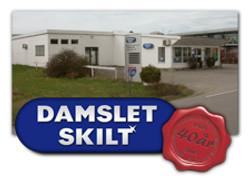 Bygget til Damslet Skilt