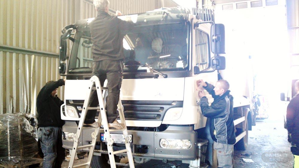 Damslet Skilt monterer NG bildekor