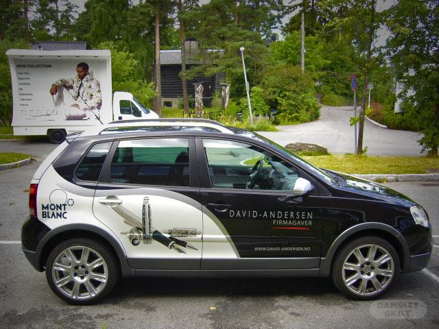 Reklame på bil