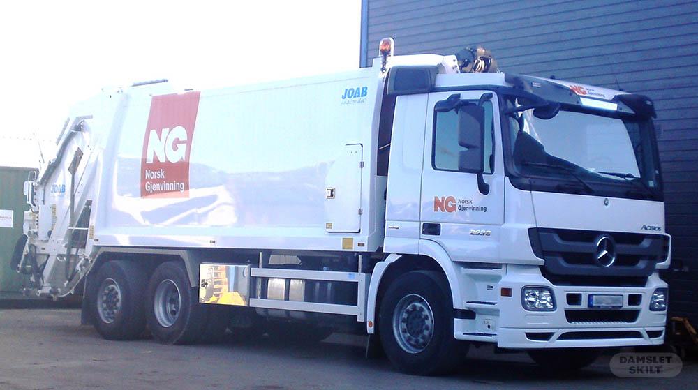 Komprimator med NG logo