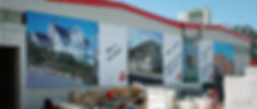 Bannere på vegg