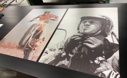 Dekorative print på metallplater