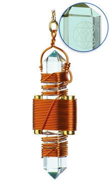 Aqua Siberian Quartz - Copper