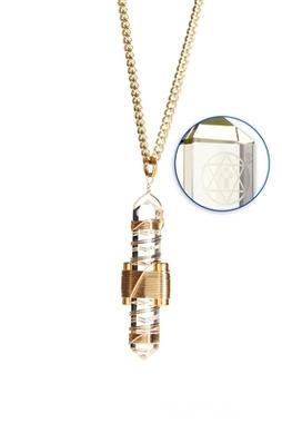 Clear Quartz to Wear - Gold