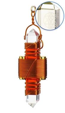 Orange Quartz - Copper