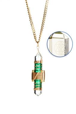 Green Quartz to Wear - Gold