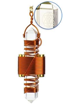 Clear Quartz - Copper