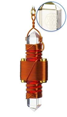 Red Quartz - Copper