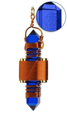 Blue Siberian Quartz - Copper
