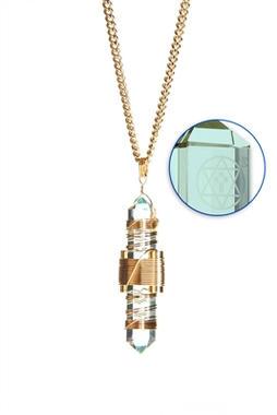 Aqua Siberian Quartz to Wear - Gold