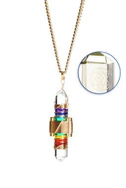 Rainbow Quartz to Wear - Gold