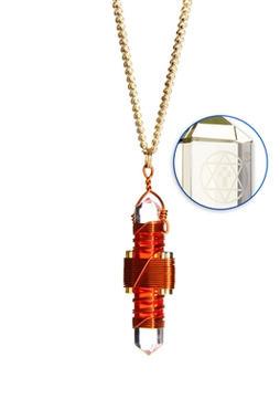 Orange Quartz to Wear - Copper