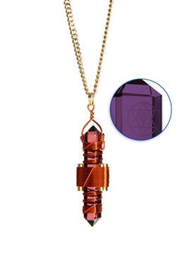 Violet Siberian Quartz to Wear - Copper