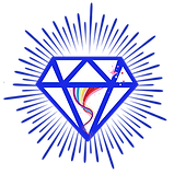 White diamond logo