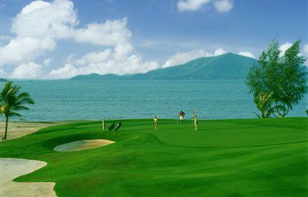 จุดที่ 09 สนามกอล์ฟมิชชั่นฮิลล์  Mission Hills Golf Course