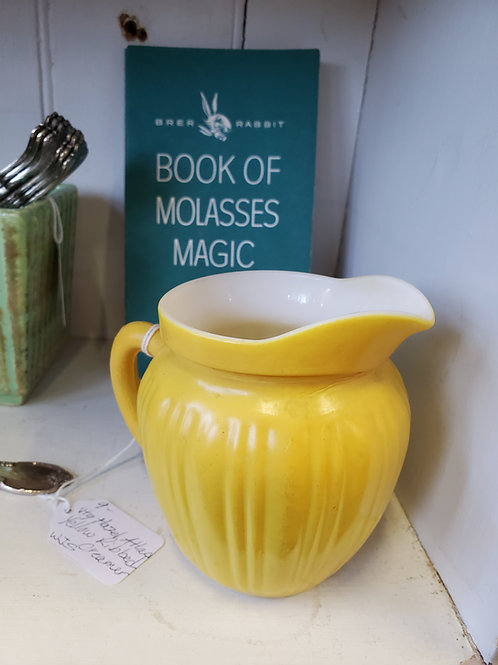 Lovely Yellow Pitcher Think Spring!