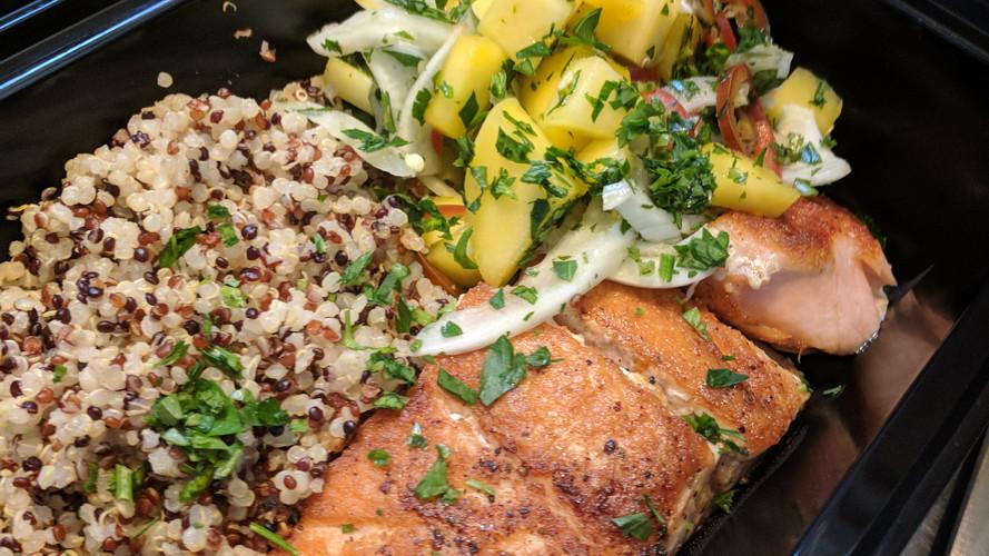 Meal Prep | Salmon and Pineapple