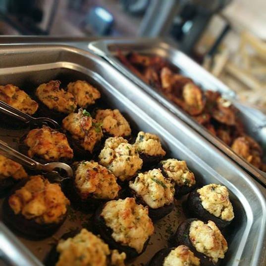 Chickenn Stuffed Mushrooms