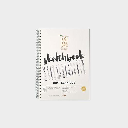 Sketchbook A5 dry