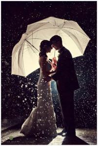 Boda molhada, boda abençoada!