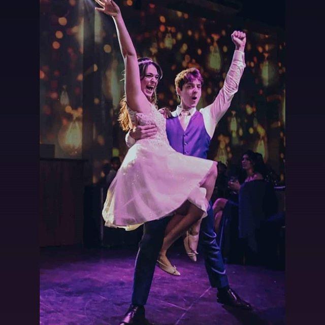 Dança dos noivos Carolina e Eduardo