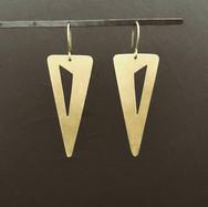The triangle inside me - earrings