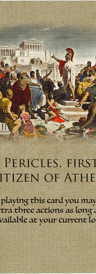 Pericles first citizen of Athens