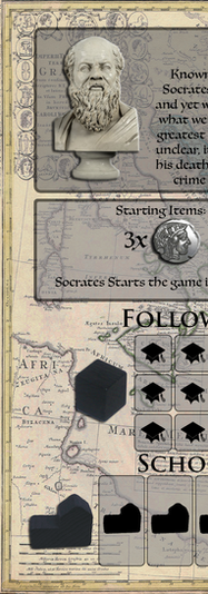 Socrates Player Board