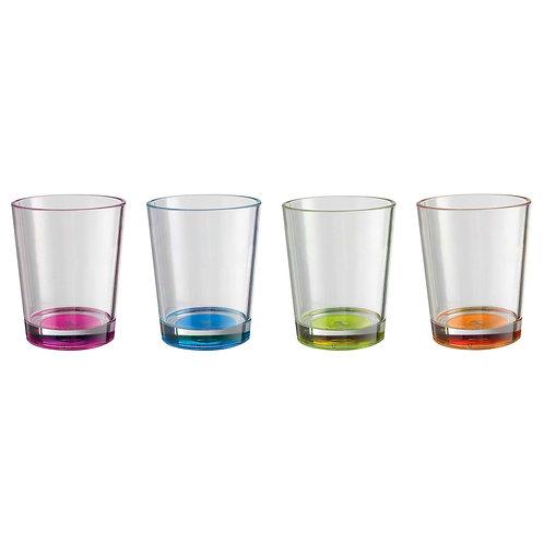 Trinkglass Set Multicolor