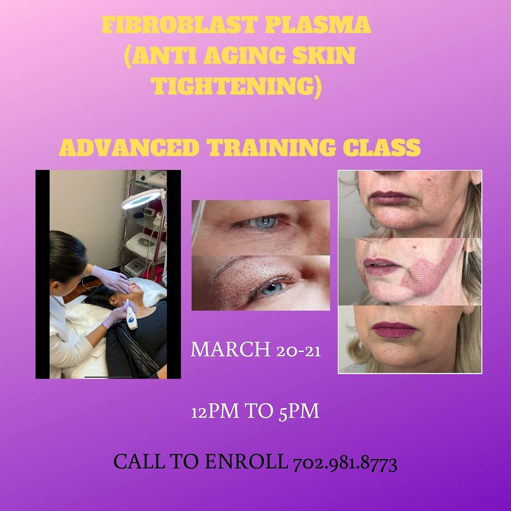 This course will teach you how to do fibroblast for skin tightening as anti-aging. A new non invasive procedure