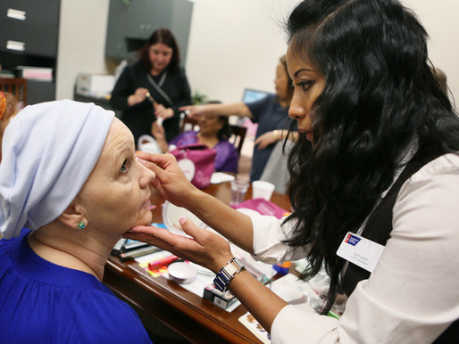 Healing touch: Aesthetician volunteers to help cancer patients with skin care
