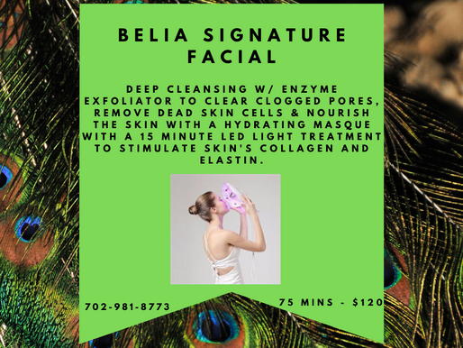 What is the Belia Signature Facial ?