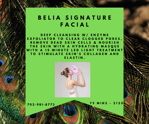 Belia Signature Facial to Stimulate Skin Collagen and Elastin