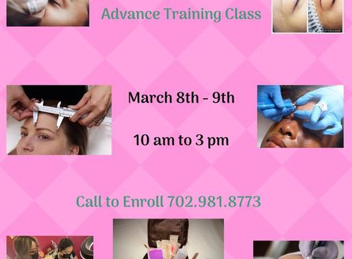 Microblading Advanced Training Class