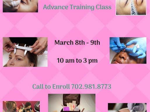 Microblading Advanced Training Class