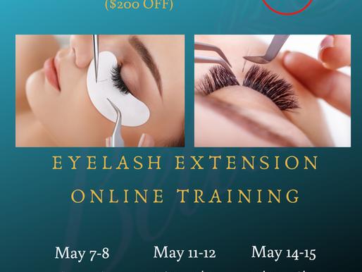 Live training Eyelash Extension Beginner 101