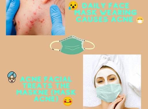 Maskne (mask acne) - Daily Face Mask Wear and Acne Breakouts (And How to Solve It)