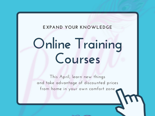 Online Training is available now