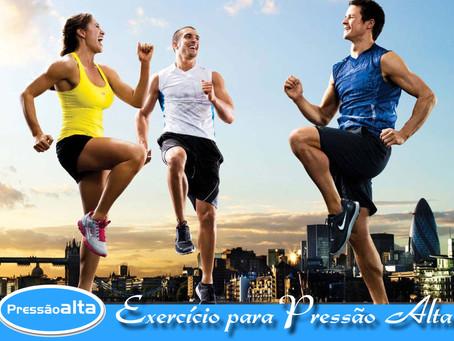 Exercício físico ideal para quem tem Pressão Alta