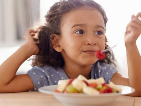 Crianças precisam de uma Dieta saudável