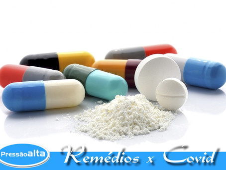 Remédios para Pressão Alta não agravam o Coronavírus.