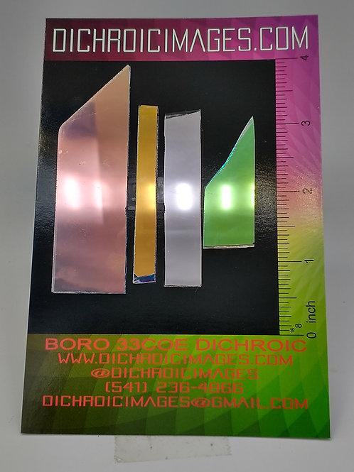 Dichroic Scrap 1oz H64